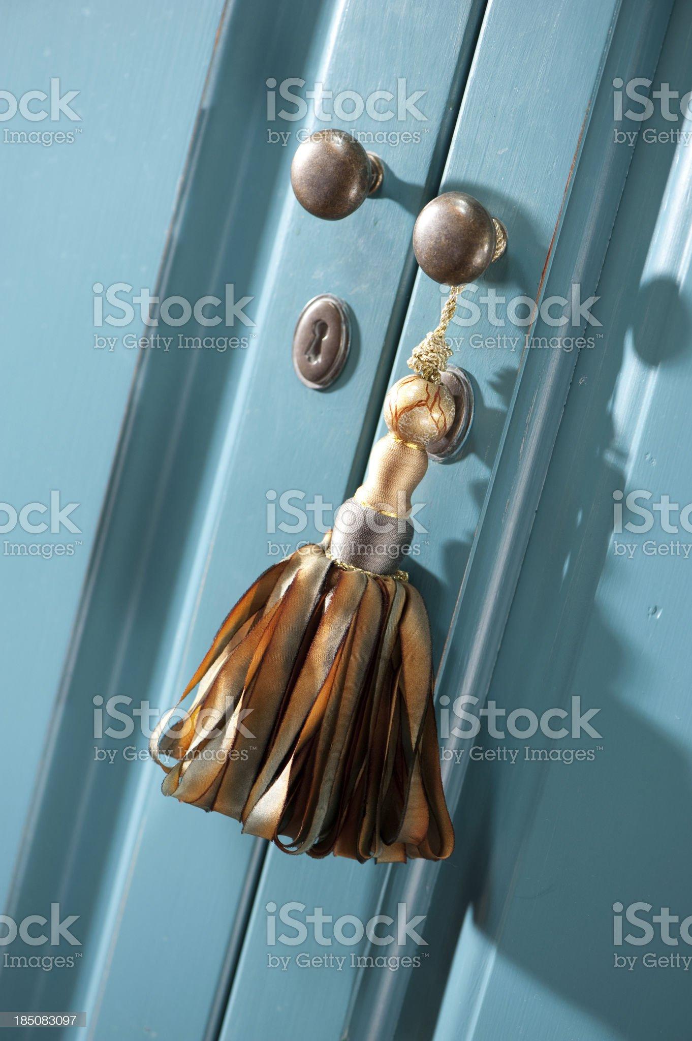 Ribbon Tassel royalty-free stock photo