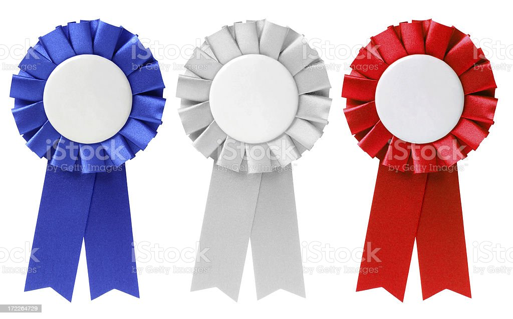 Ribbons / Awards stock photo