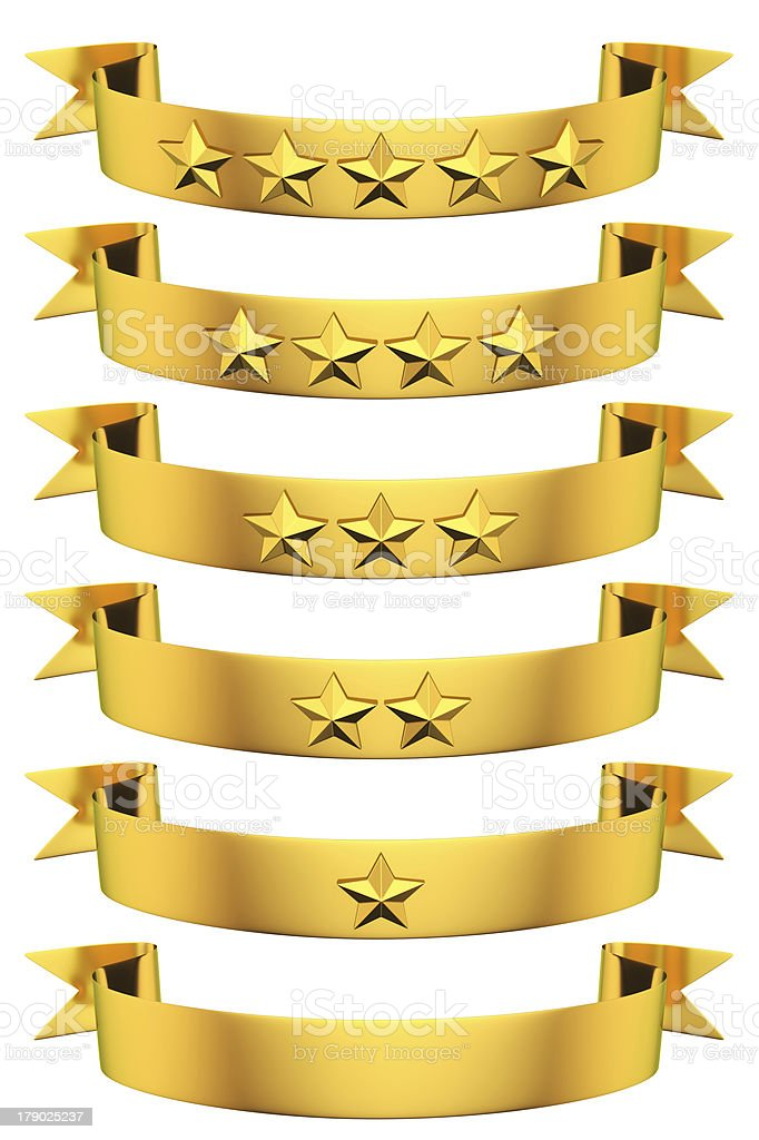 Ribbons of Glory royalty-free stock photo