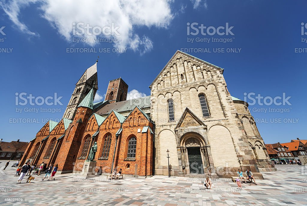 Ribe Cathedral royalty-free stock photo