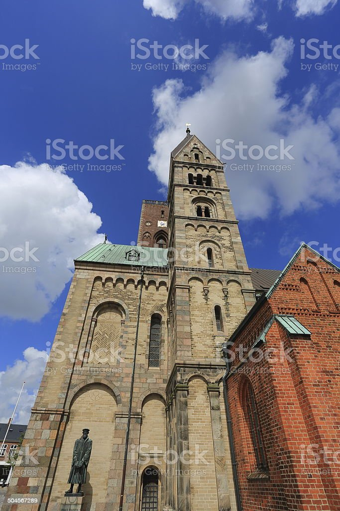 Ribe cathedral royalty-free stock photo