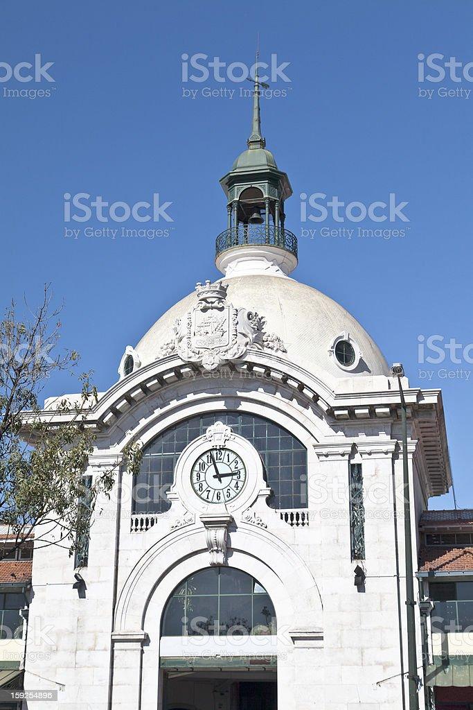 Ribeira Market royalty-free stock photo