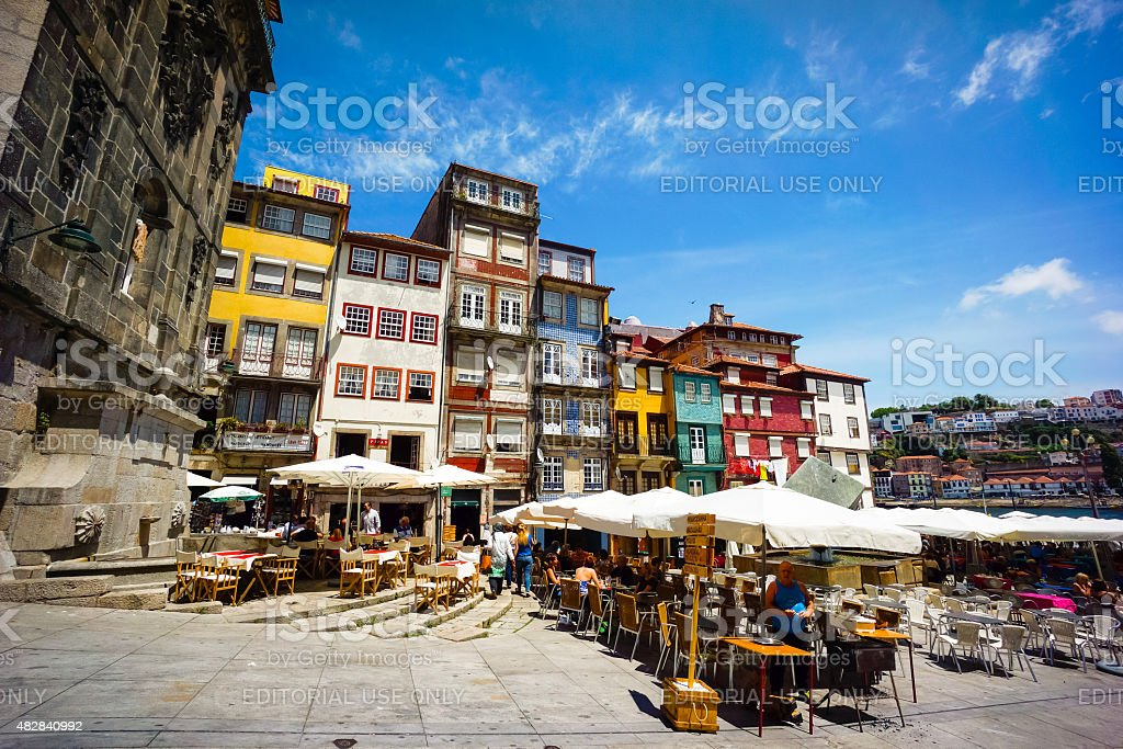Ribeira Square stock photo
