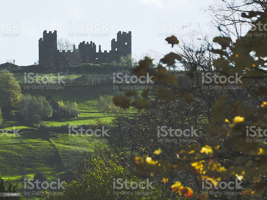 Riber Castle in autumn royalty-free stock photo