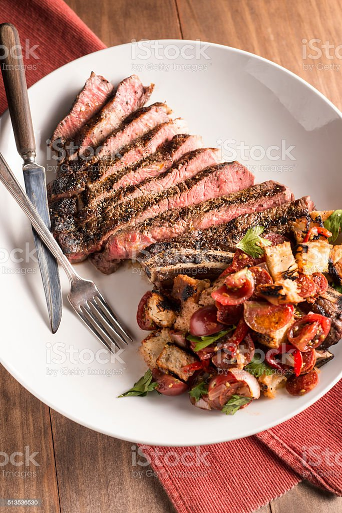 Ribeye stock photo
