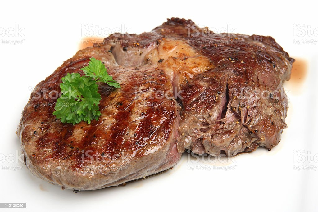 Rib-Eye Steak royalty-free stock photo
