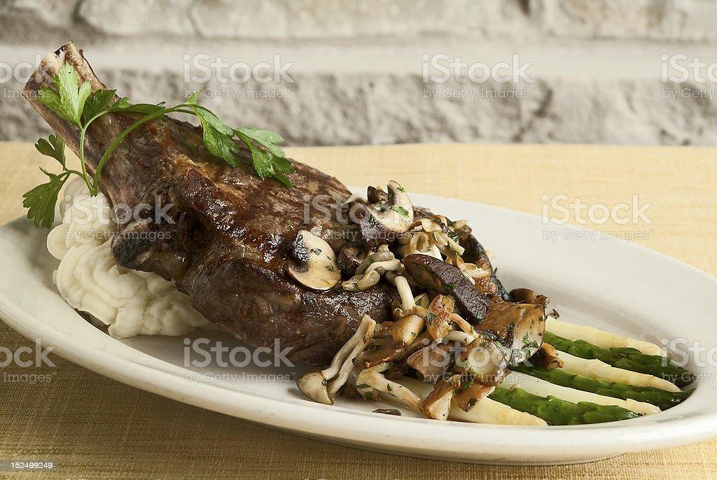 Ribeye Steak royalty-free stock photo
