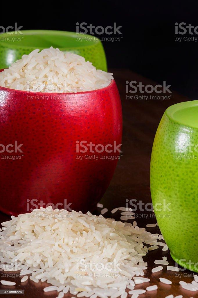 Rice beans stock photo