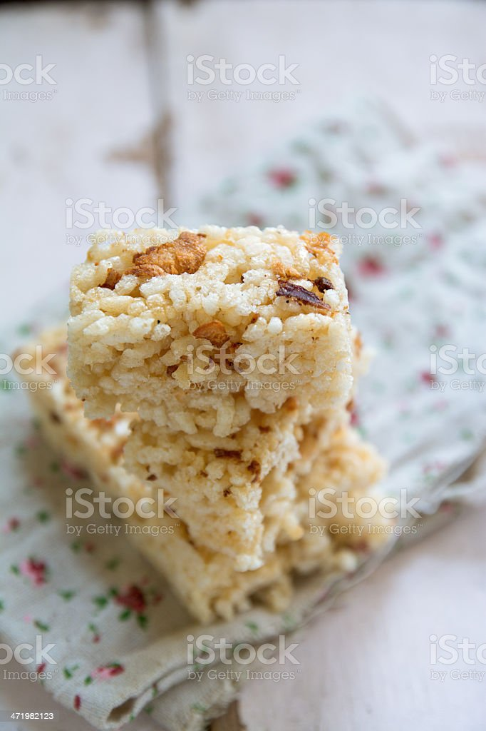 Rice Cookie royalty-free stock photo