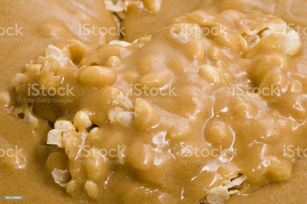 rice crispy treats royalty-free stock photo