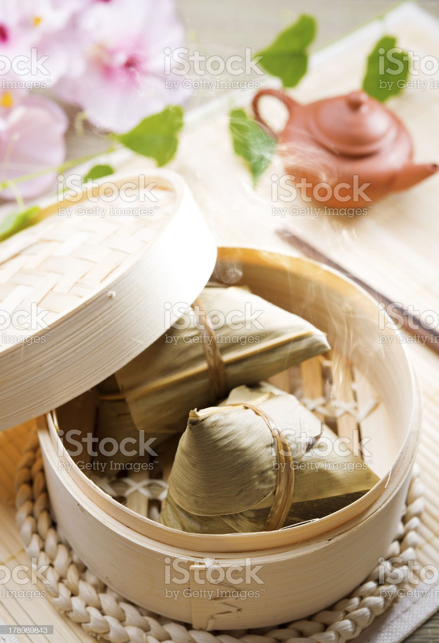 Rice dumpling royalty-free stock photo