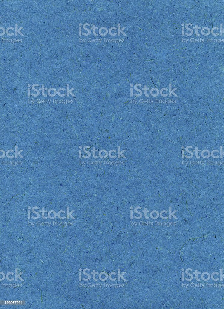 Rice Paper Texture - Bright Sapphire XXXXL royalty-free stock photo