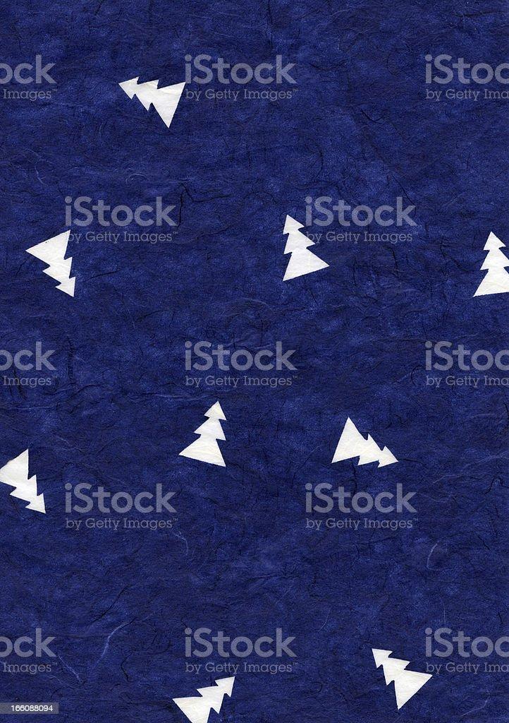 Rice Paper Texture - Christmas Blue XXXXL royalty-free stock photo
