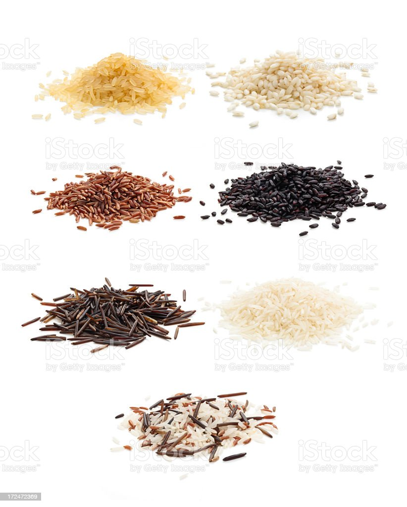 Rice. stock photo
