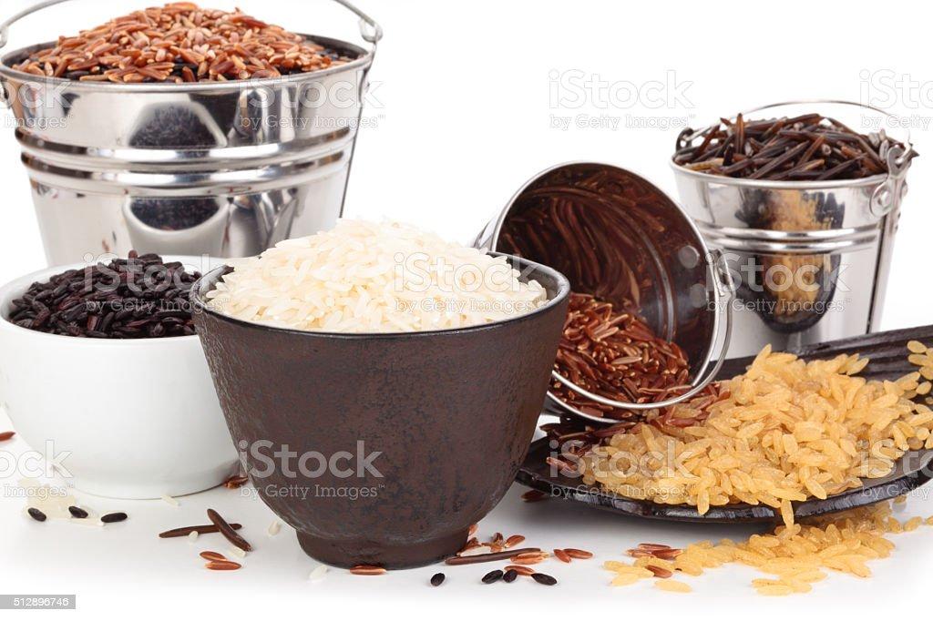 Rice. stock photo