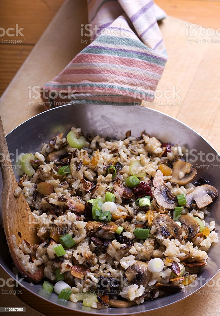 Rice Pilaf royalty-free stock photo