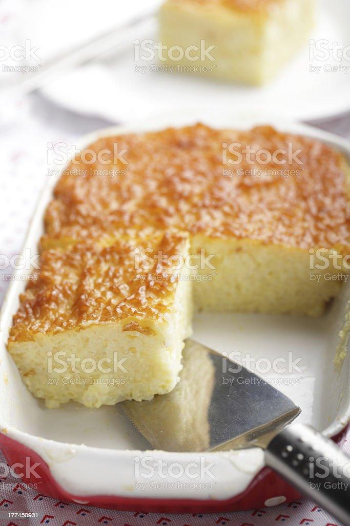 Rice pudding royalty-free stock photo