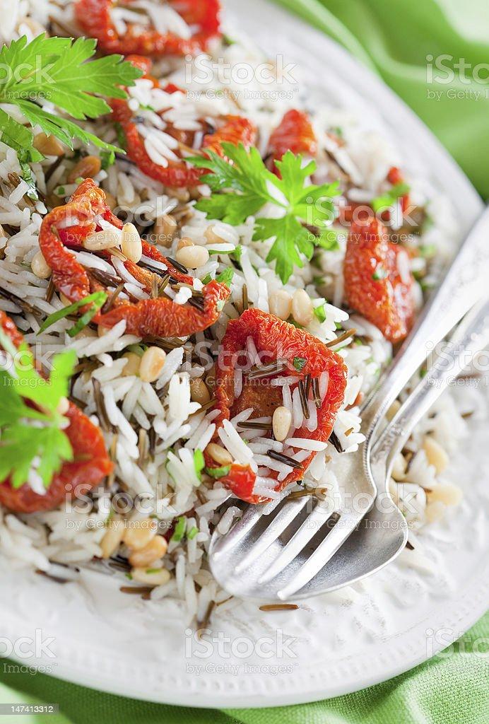 Rice salad royalty-free stock photo