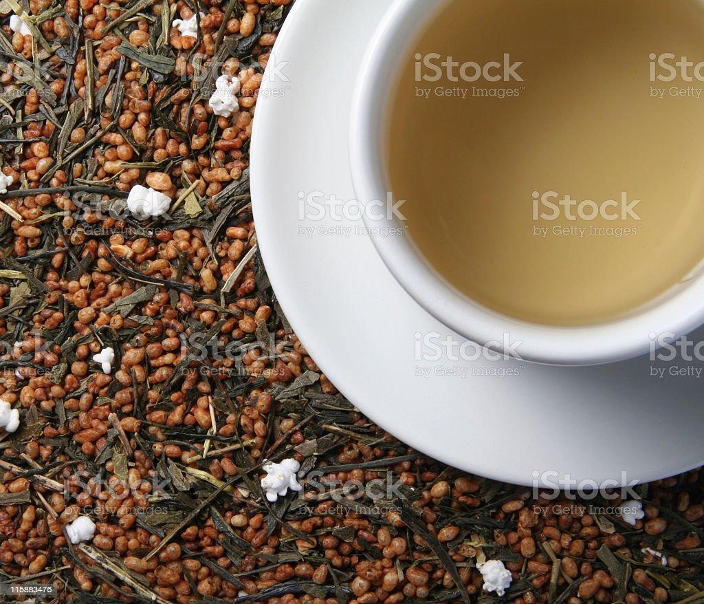 Rice tea royalty-free stock photo