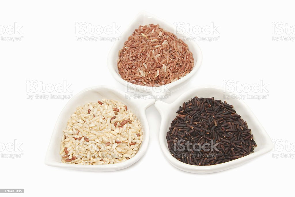 Rice varieties royalty-free stock photo