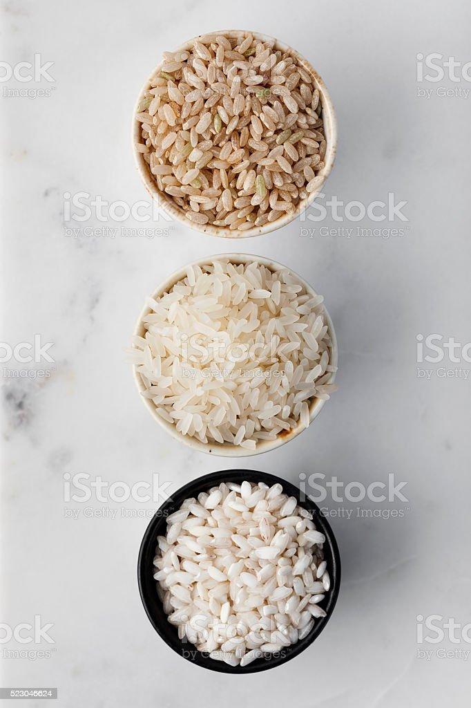 rice,rice varieties stock photo