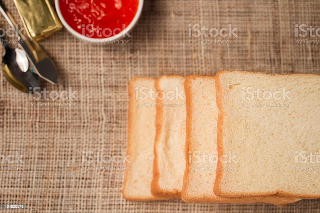 rich and soft sliced bread royalty-free stock photo