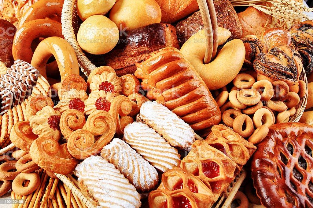 rich bakery stock photo