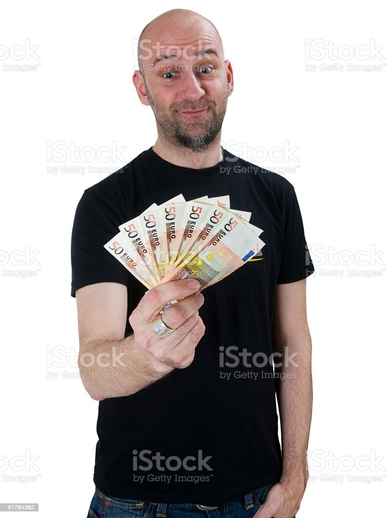 Rich Casual Man stock photo