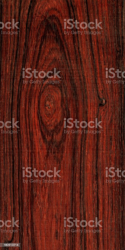 Rich Dark Red Wood Grain stock photo