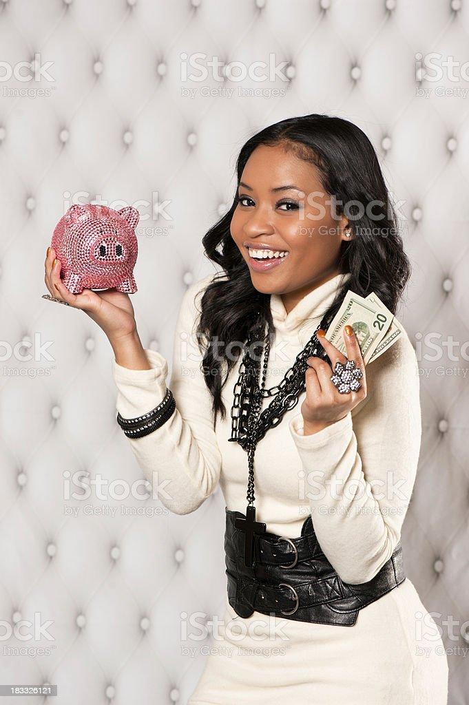 Rich Getting Richer stock photo
