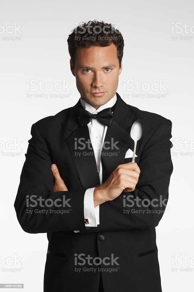 Rich Guy stock photo