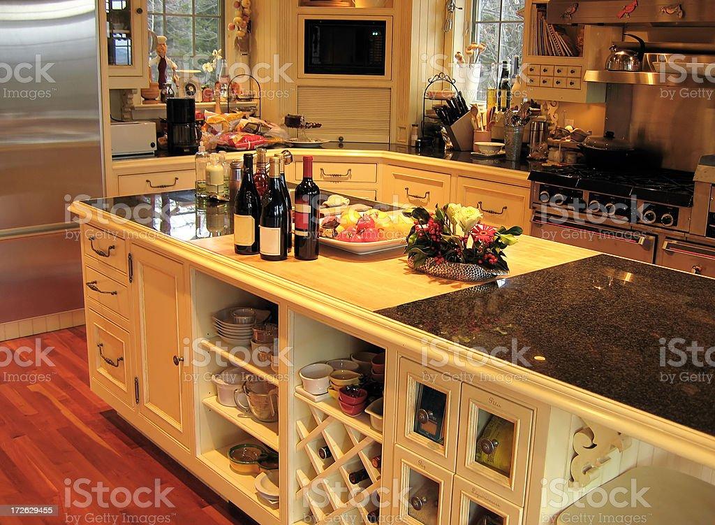 Rich Kitchen royalty-free stock photo