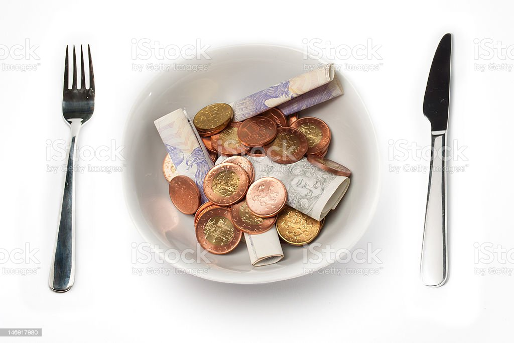 Rich Meal royalty-free stock photo