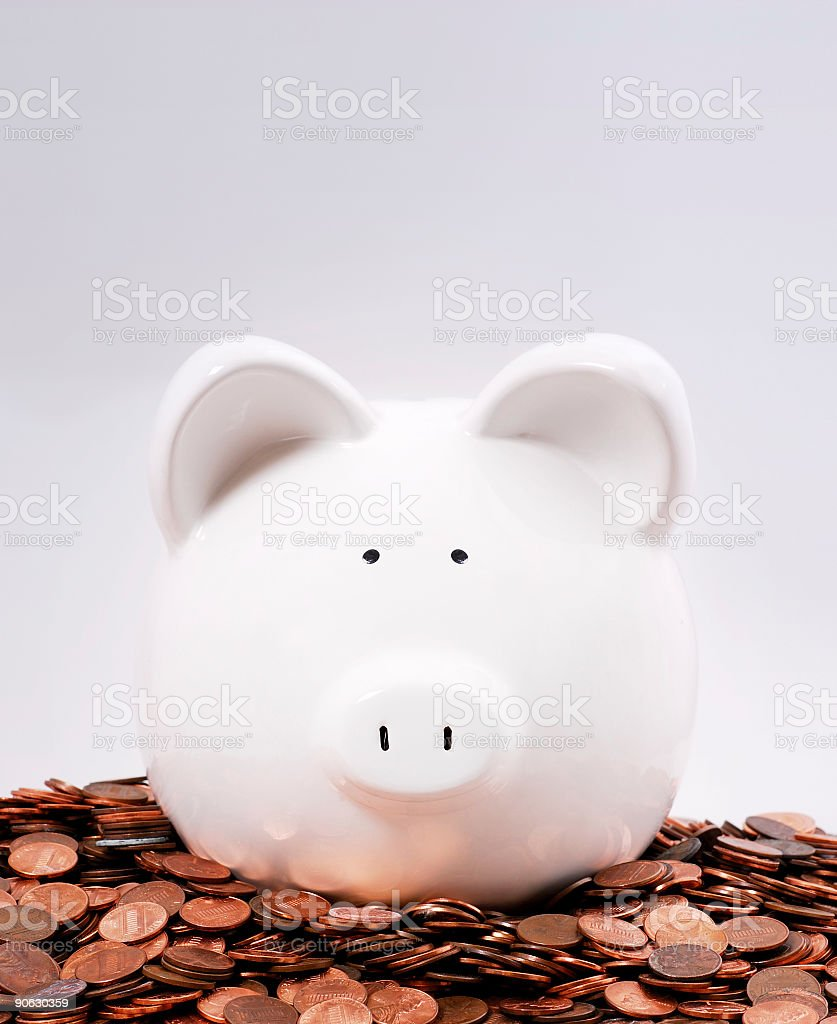 rich piggy royalty-free stock photo