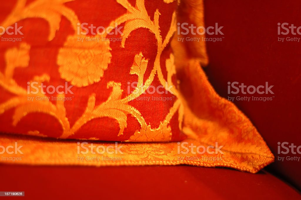 Rich pillow royalty-free stock photo