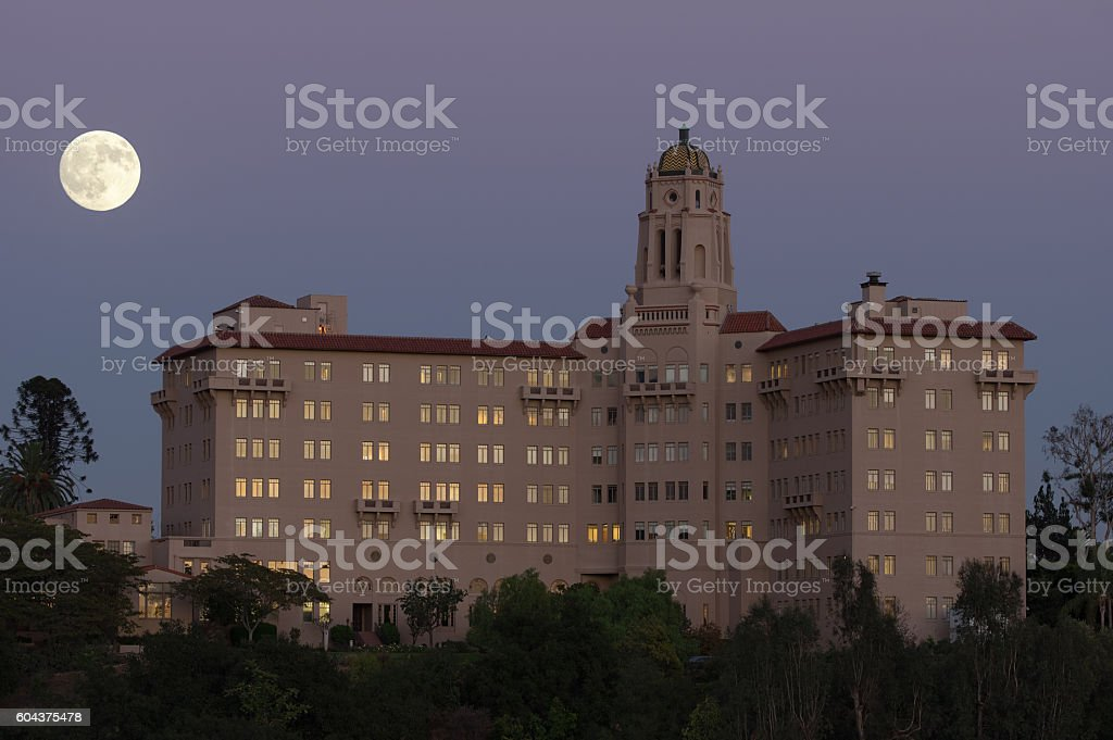 Richard H. Chambers Courthouse in Pasadena. stock photo