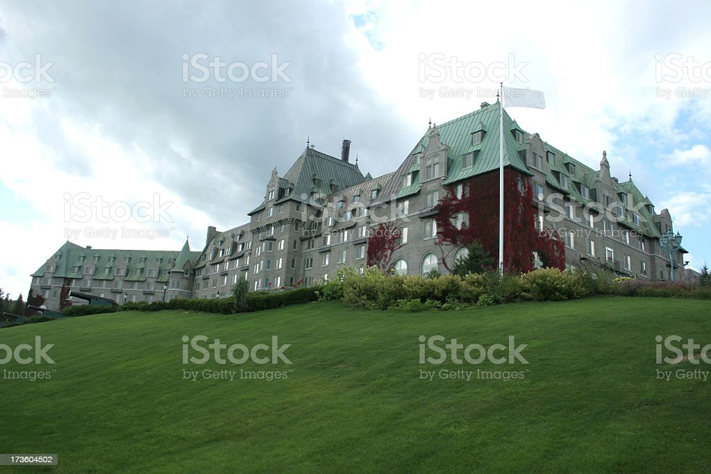 Manoir Richelieu stock photo