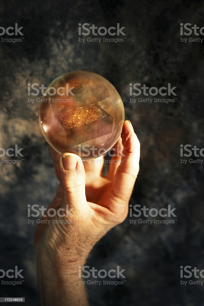 Riches in your future royalty-free stock photo