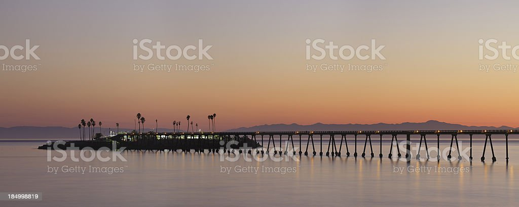 Richfield Pier royalty-free stock photo