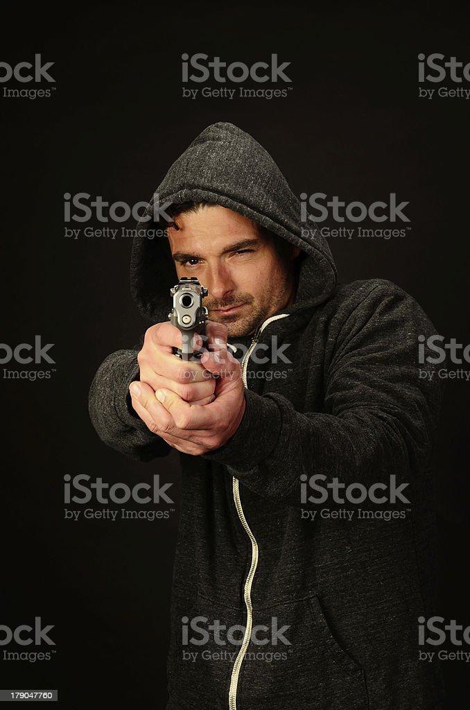 Richie Gun stock photo