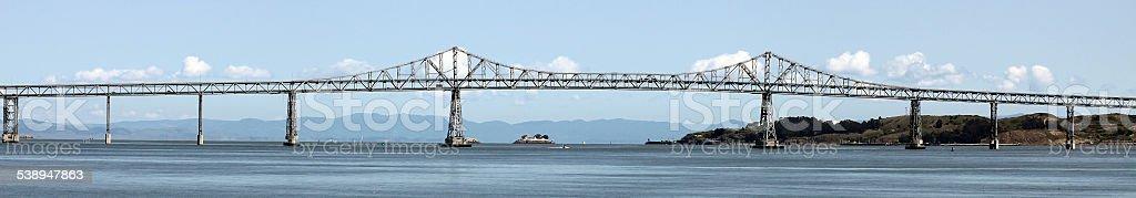 Richmond Bridge, Bay Area, California stock photo