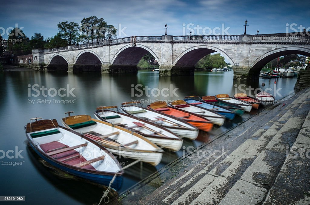 Richmond Bridge stock photo