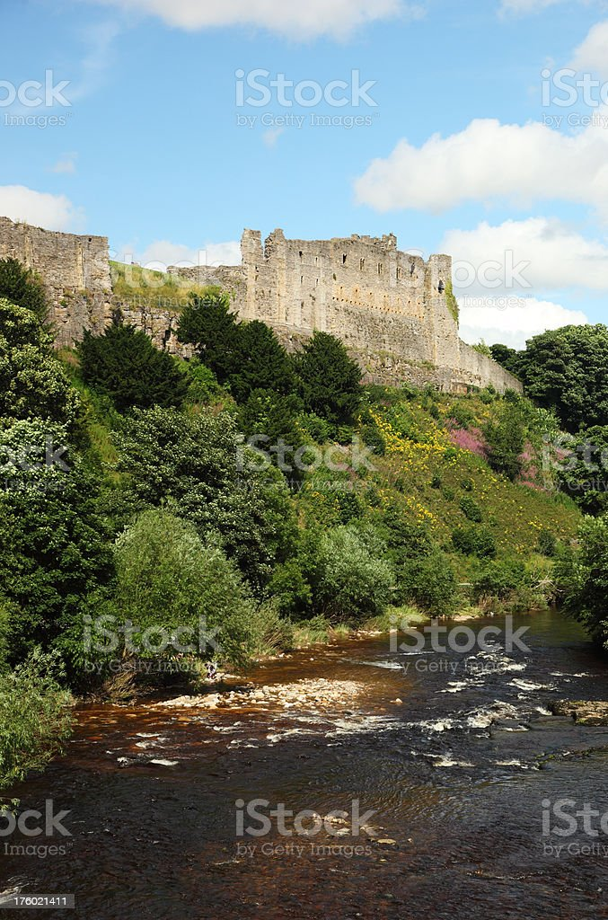 Richmond Castle royalty-free stock photo