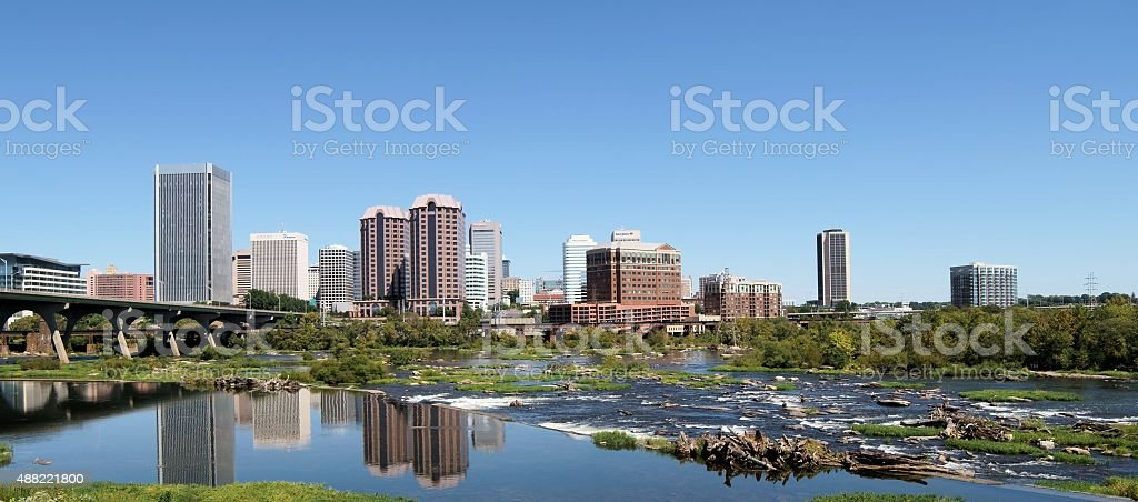 Richmond Landscape stock photo