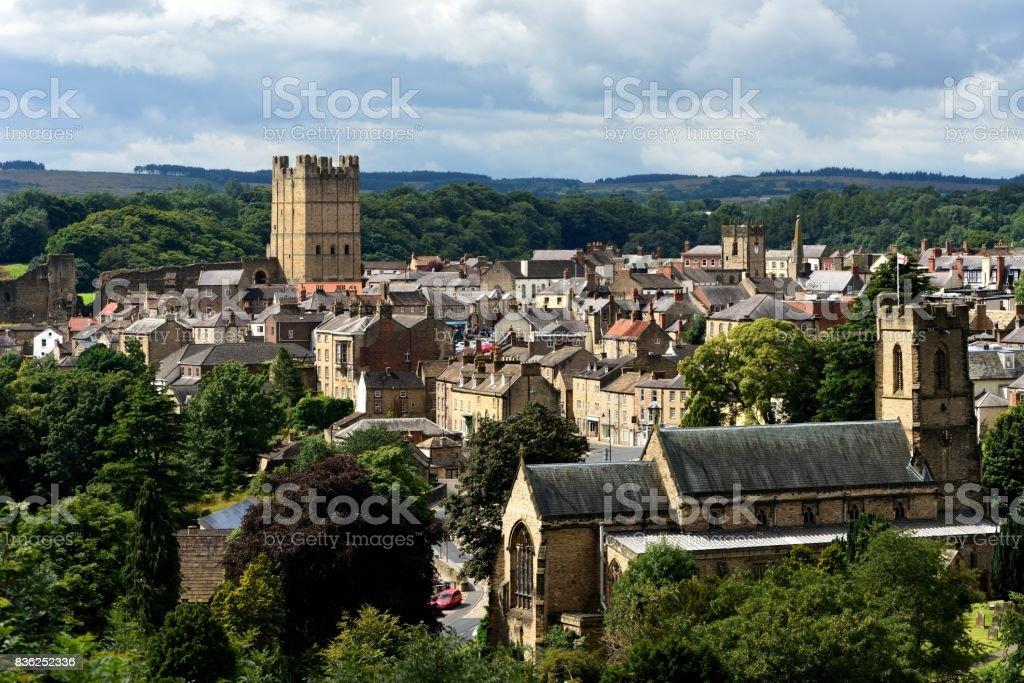 Richmond, North Yorkshire stock photo