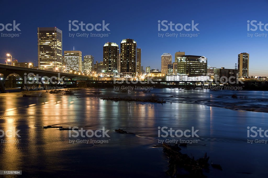 Richmond Pre-Dawn stock photo
