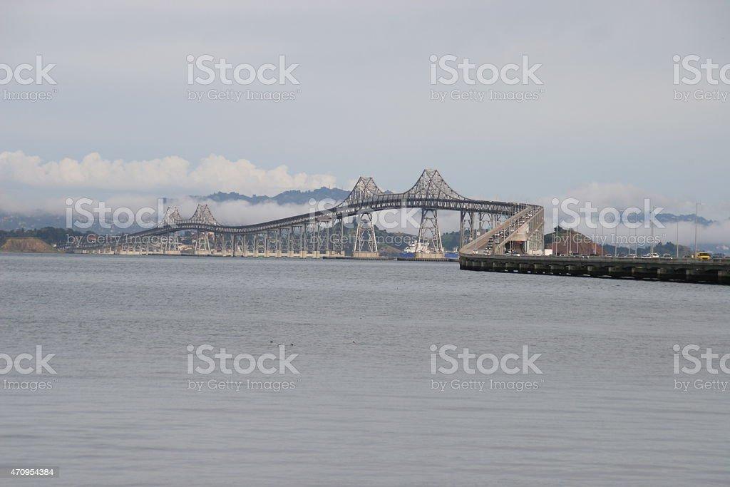 Richmond San Rafael Bridge stock photo