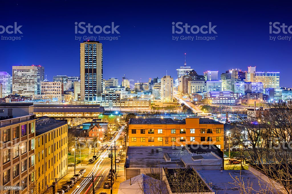 Richmond Skyline stock photo