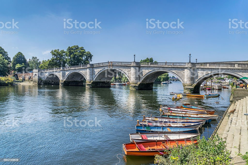 Richmond Upon Thames stock photo