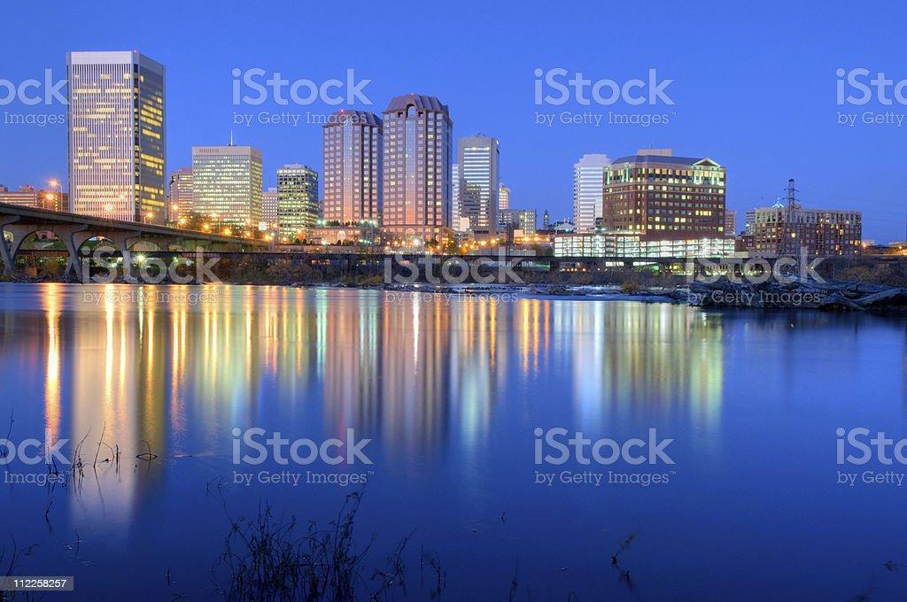 Richmond, VA HDR royalty-free stock photo